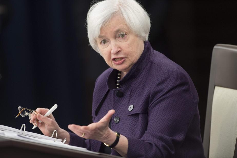 Laprésidentede la Réserve fédérale américaine (Fed), Janet Yellen.... (AFP, Saul Loeb)