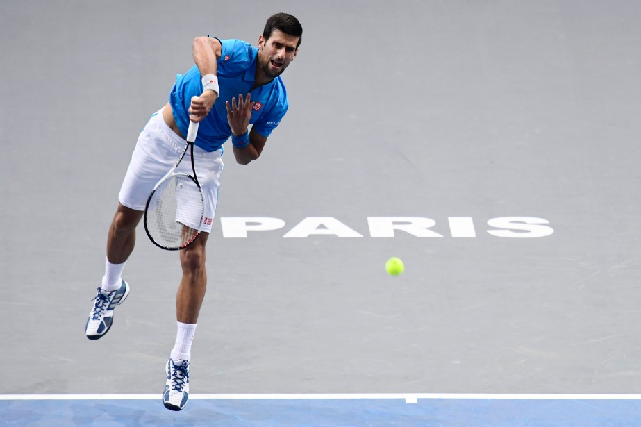 Novak Djokovic... (Photo Miguel Medina, AFP)