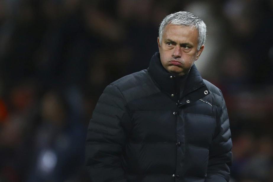 L'entraîneur-chef de Manchester United, Jose Mourinho.... (Photo Dave Thompson, AP)