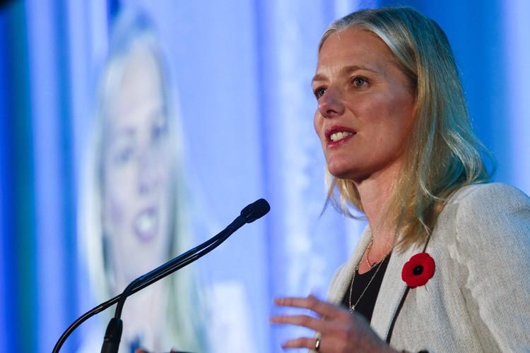 La ministre de l'Environnement, Catherine McKenna, a livré... (Photo archives La Presse Canadienne)