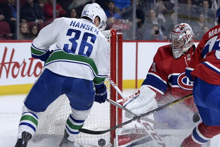 Relisez le clavardage du match Canadien-Canucks avec nos... (PHOTO REUTERS)