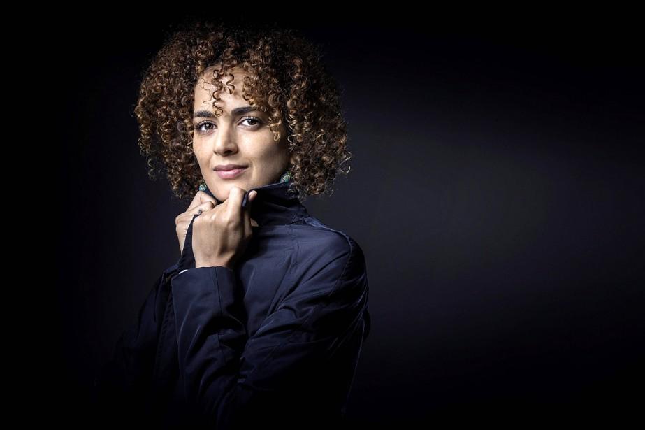 La jeune romancière Leïla Slimani.... (PHOTO ARCHIVES AFP)