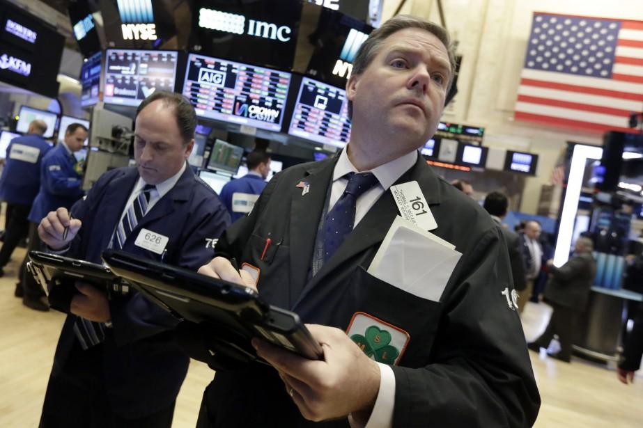 La Bourse de New York n'a cessé d'enchaîner... (AP)