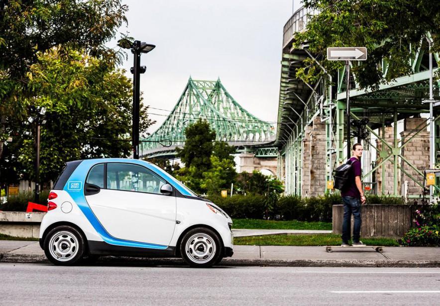«Le nombre de véhicules ne cesse malheureusement pas... (PHOTO CNW/CAR2GO)