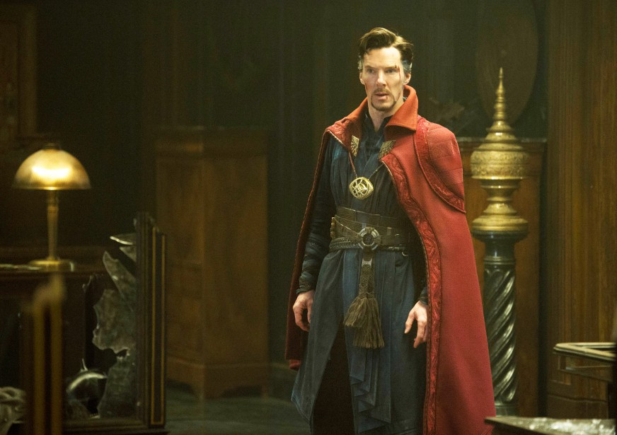 Benedict Cumberbatch se glisse dans la peau dudocteur... (Photo fournie par Marvel Studios)