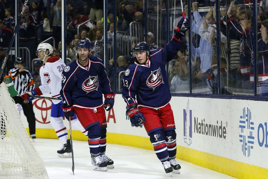 Les Blue Jackets sont sans pitié pour les... (Photo USA Today Sports)