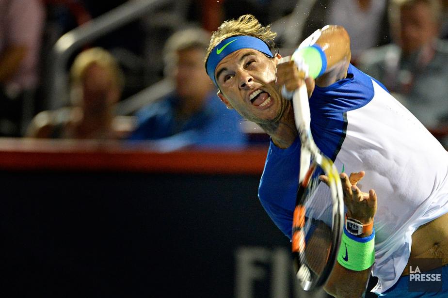 Rafael Nadal... (PHOTO BERNARD BRAULT, ARCHIVES LA PRESSE)
