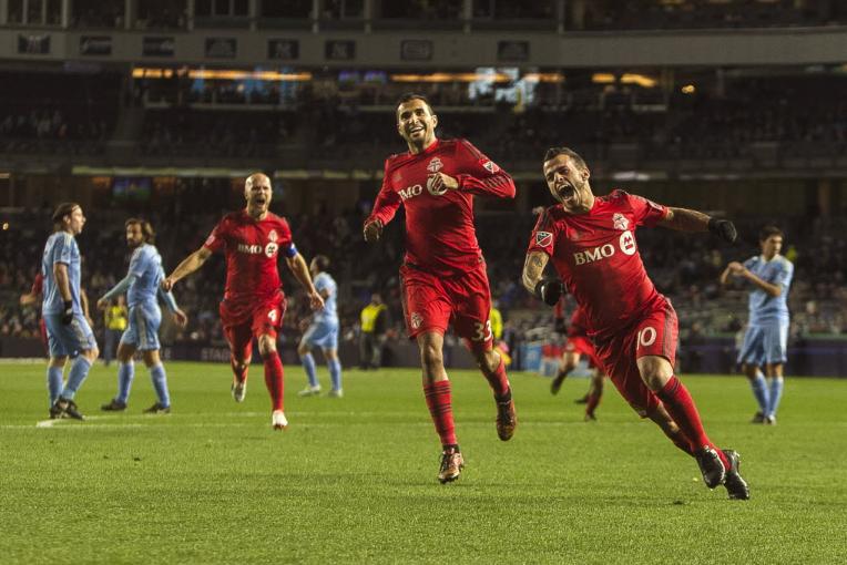 Giovinco a marqué trois buts dans un match... (Photo AP)