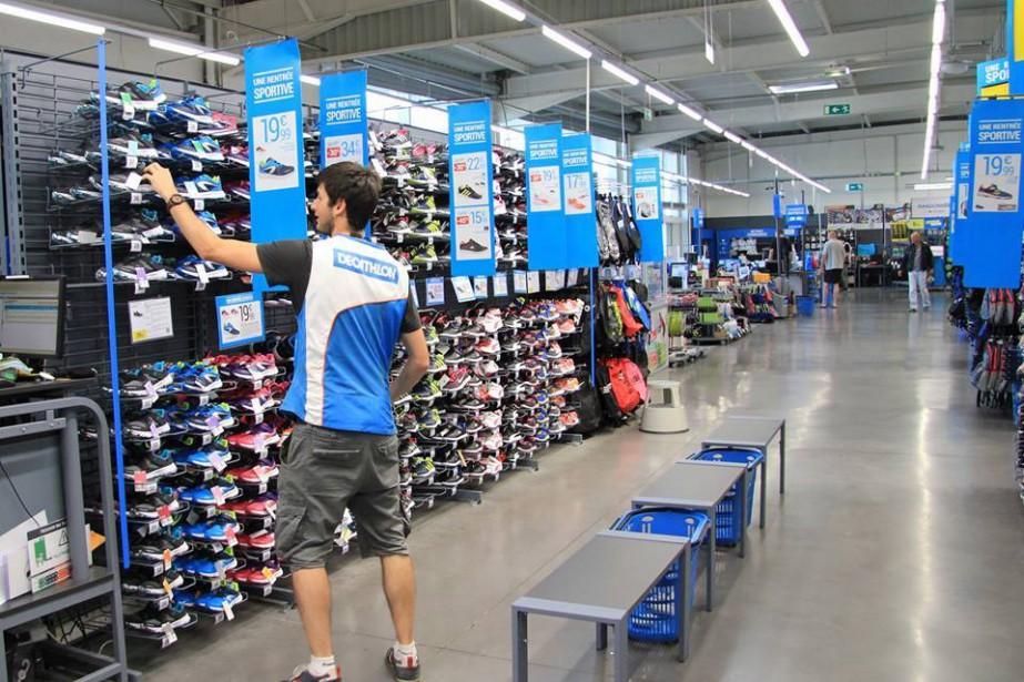 L'entreprise française Decathlon, qui vend une vaste gamme... (PHOTO tirée de la page Facebook de l'entreprise)