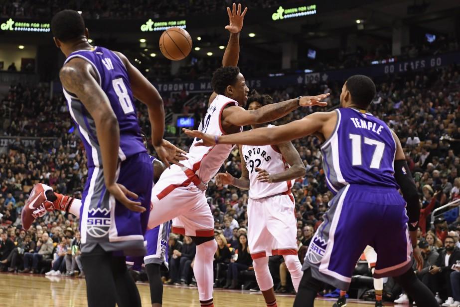 Les Kings de Sacramento ont défait les Raptors... (Photo Frank Gunn, PC)