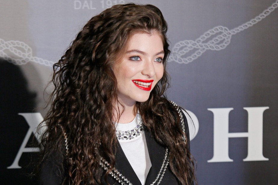 Lorde... (PHOTO VINCENT YU, ARCHIVES ASSOCIATED PRESS)