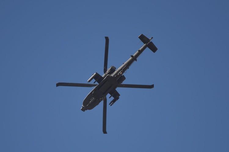 À Mossoul, les Apache ont été utilisés «avec... (PHOTO AFP)