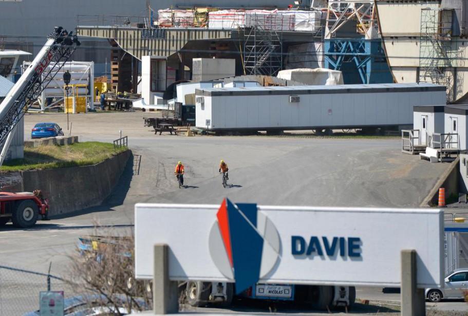 Davie réclame 100millions supplémentaires de Québec pour obtenir... (PHOTOYan Doublet, Archives Le Soleil)