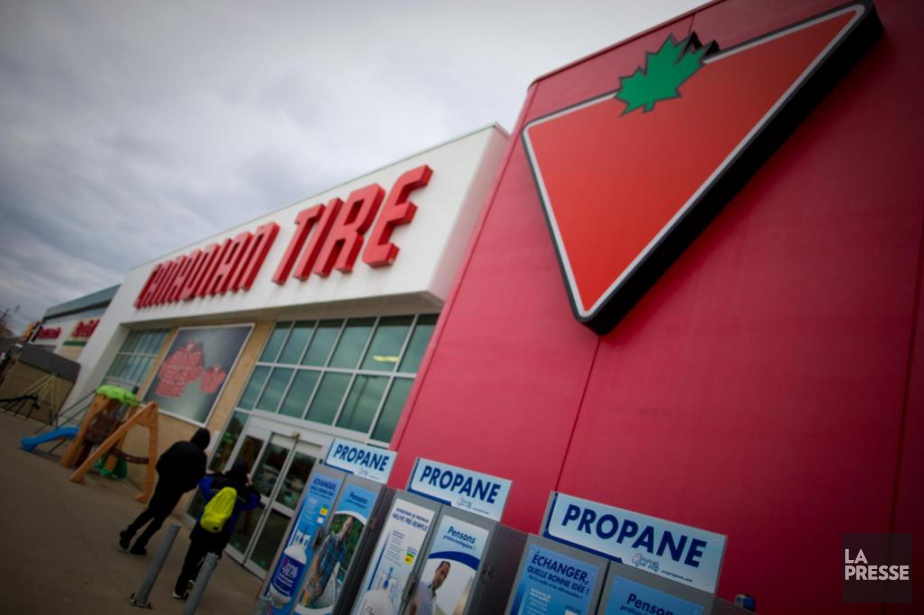 Les profits de Canadian Tire ont bondi de... (Photo André Pichette, archives la presse)