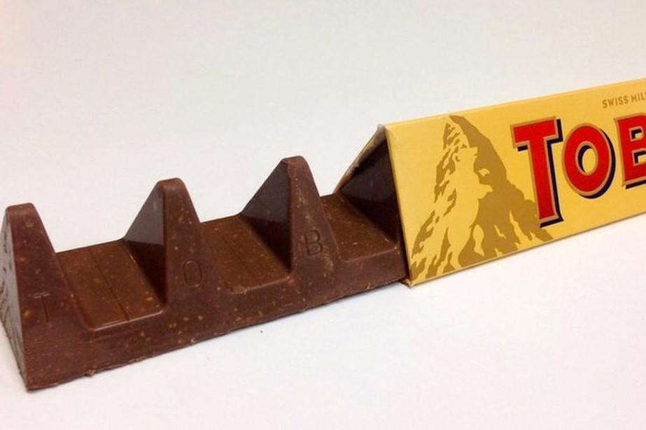 Les amateurs de Toblerone en Grande-Bretagne ont eu tout un choc: l'espace...