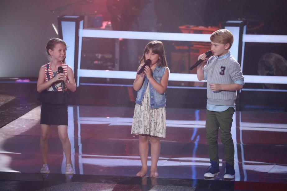 Annabelle Huot, Lee-Ann Viens et Rafaël Dolan-Bachand,de l'équipe... (photo fournie parOSA IMAGES ET TVA)