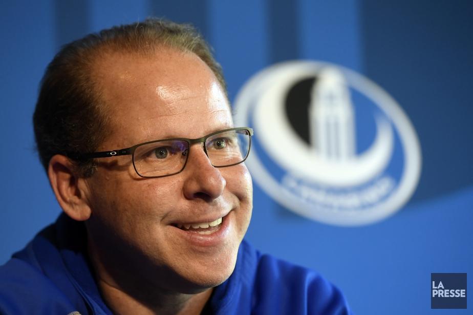 L'entraîneur-chef des Carabins de l'Université de Montréal, Danny... (Photo Bernard Brault, La Presse)
