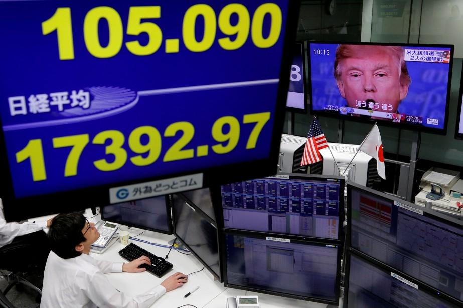 Dans une redite du Brexit, les marchés... (PHOTO Toru Hanai, REUTERS)