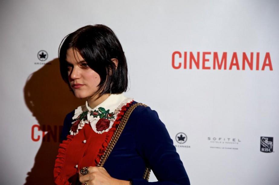 L'actrice et chanteuse Soko est de passage à... (photo andré pichette, la presse)
