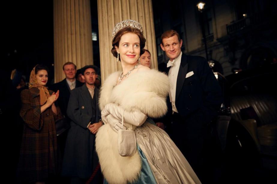«La comédienne qui incarne ÉlisabethII, la Britannique Claire... (PHOTO FOURNIE PAR NETFLIX)