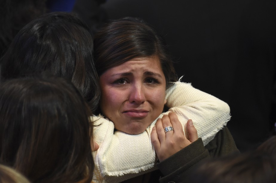 De nombreux Américains sont bouleversés par l'élection de... (Photo Robyn Beck, AFP)