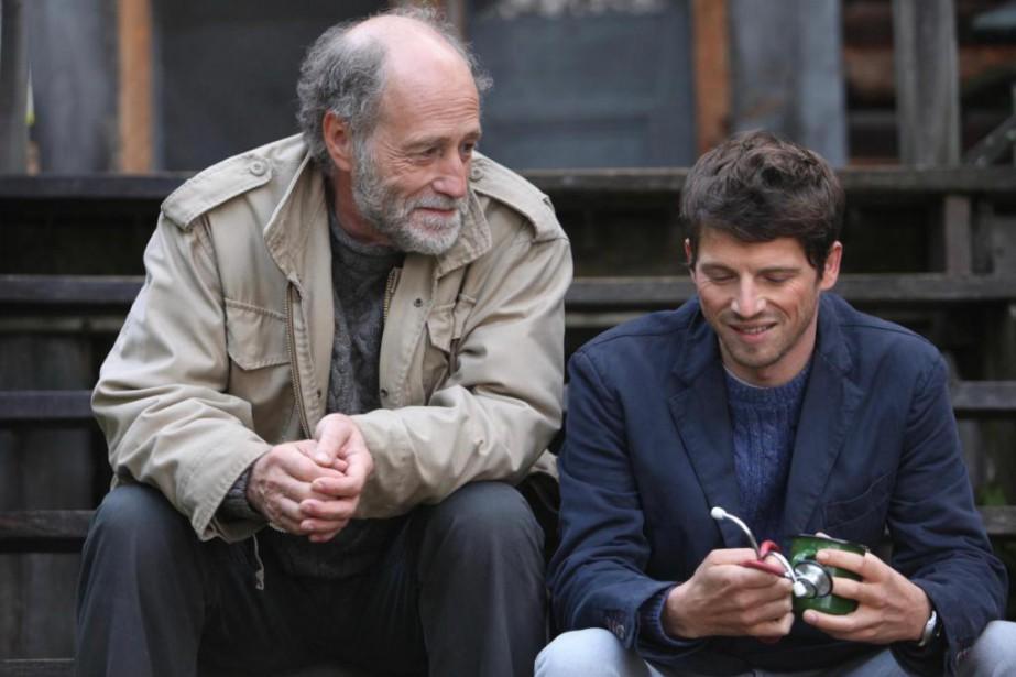 Gabriel Arcand et Pierre Deladonchamps dans une scène... (Photo fournie par Les Films Séville)