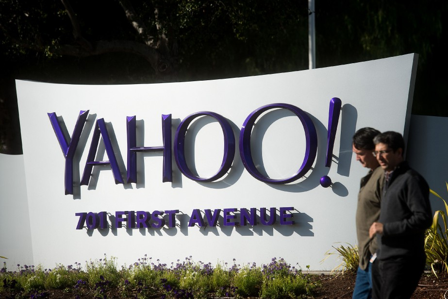 Le groupe internet américain Yahoo! a annoncé lundi... (PHOTO ARCHIVES REUTERS)