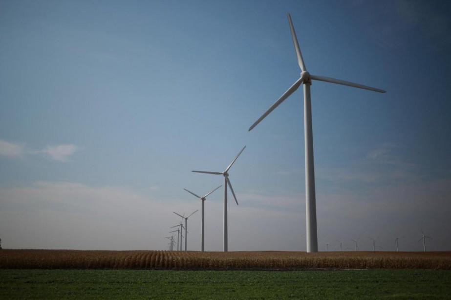 Beaucoup d'entreprises internationales du secteur des énergies propres... (PhotoLuke Sharrett, Archives The New York Times)