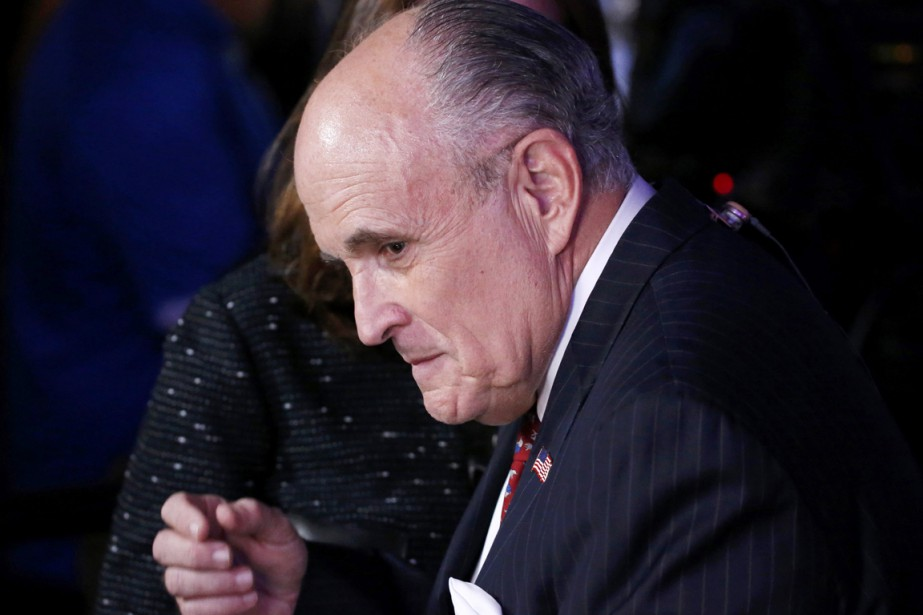 Rudy Giulianiqui est cité pour le poste de... (photo Jonathan Ernst, archives REUTERS)