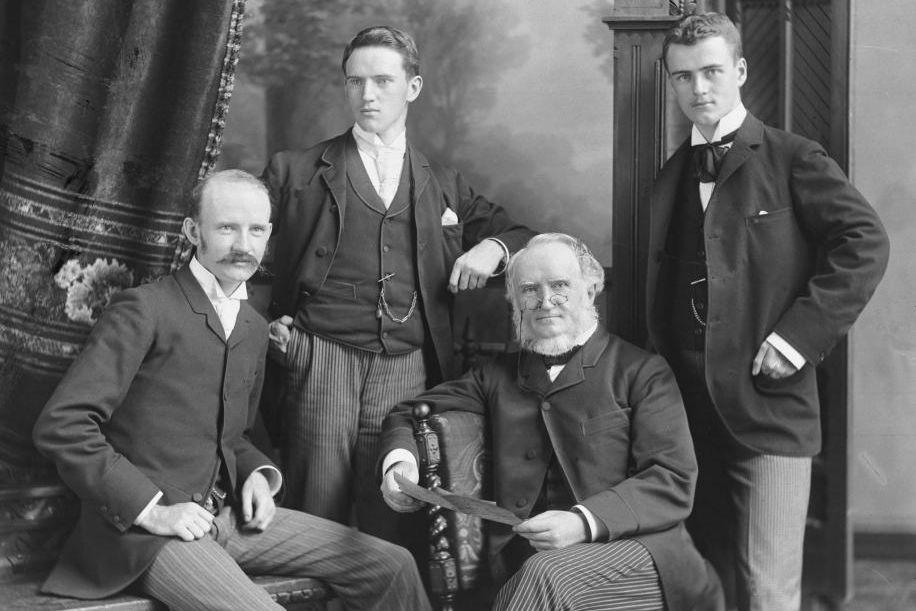 William Notman et ses fils, William McFarlane, George... (PHOTO WM. NOTMAN&SON, FOURNIE PAR LE MUSÉE MCCORD)
