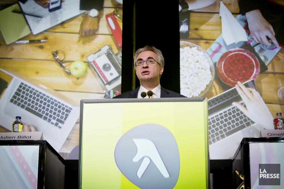 Julien Billot, PDG du Groupe Pages Jaunes... (La Presse, Alain Roberge)