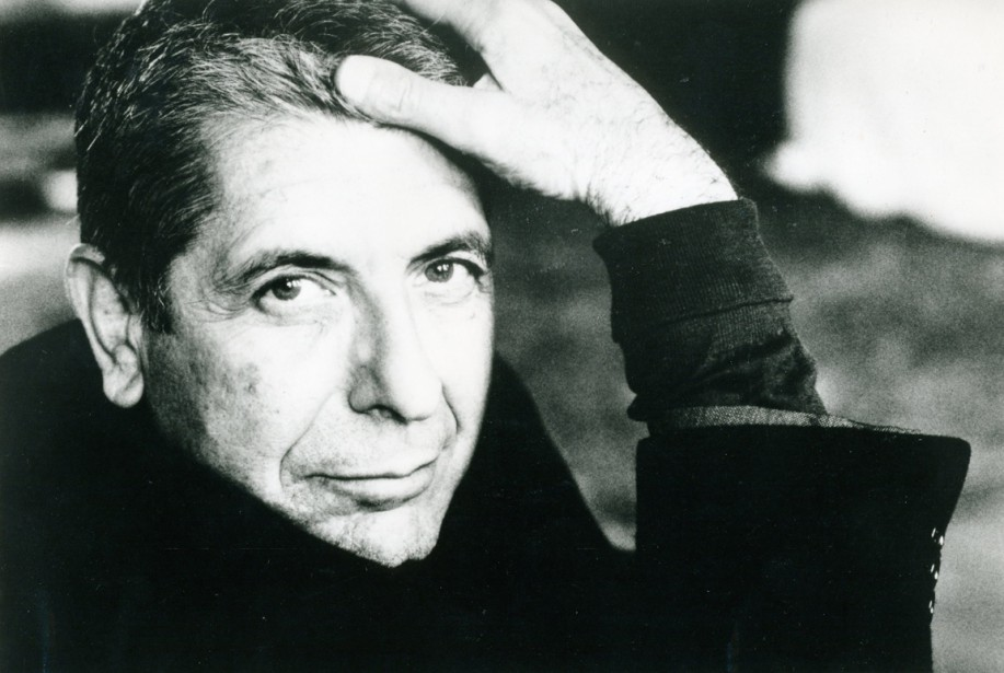 Leonard Cohen, le 16 avril 1993 (Photo Archives La Presse)