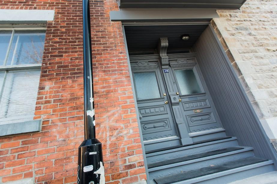 Leonard Cohen vivait rue Vallière, à Montréal. (Photo Édouard Plante-Fréchette, archives La Presse)
