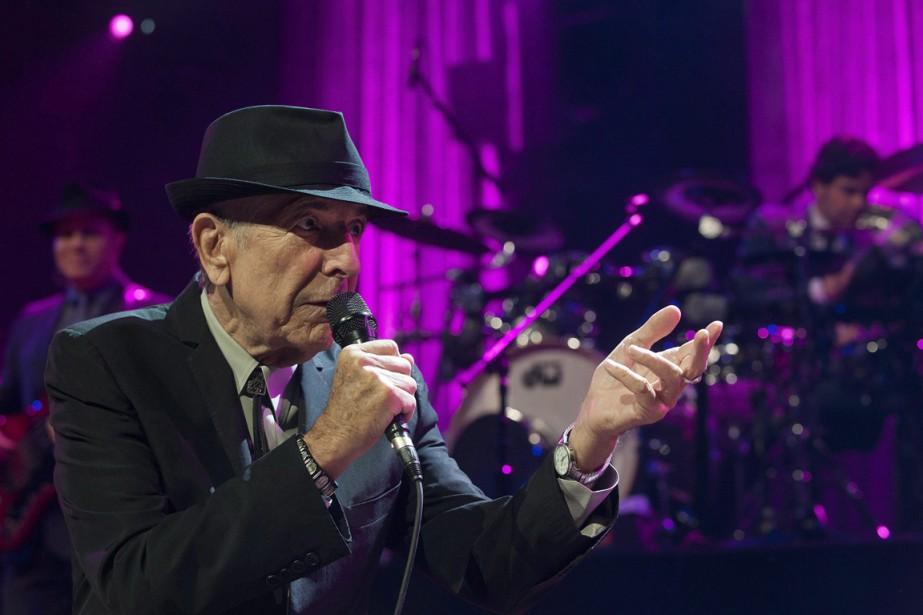 Cohen au Festival de jazz de Montreux, en Suisse, le 4 juillet 2013. (Photo Sandro Campardo, archives AP)