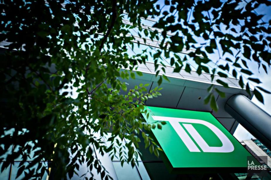 Le bénéfice net ajusté de la TD est... (Photo Olivier Jean, Archives La Presse)