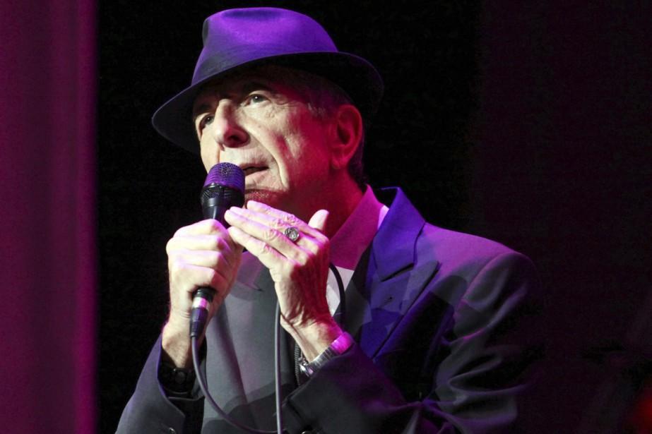 Leonard Cohen en spectacle à Atlanta en mars... (PHOTO ARCHIVES AP)