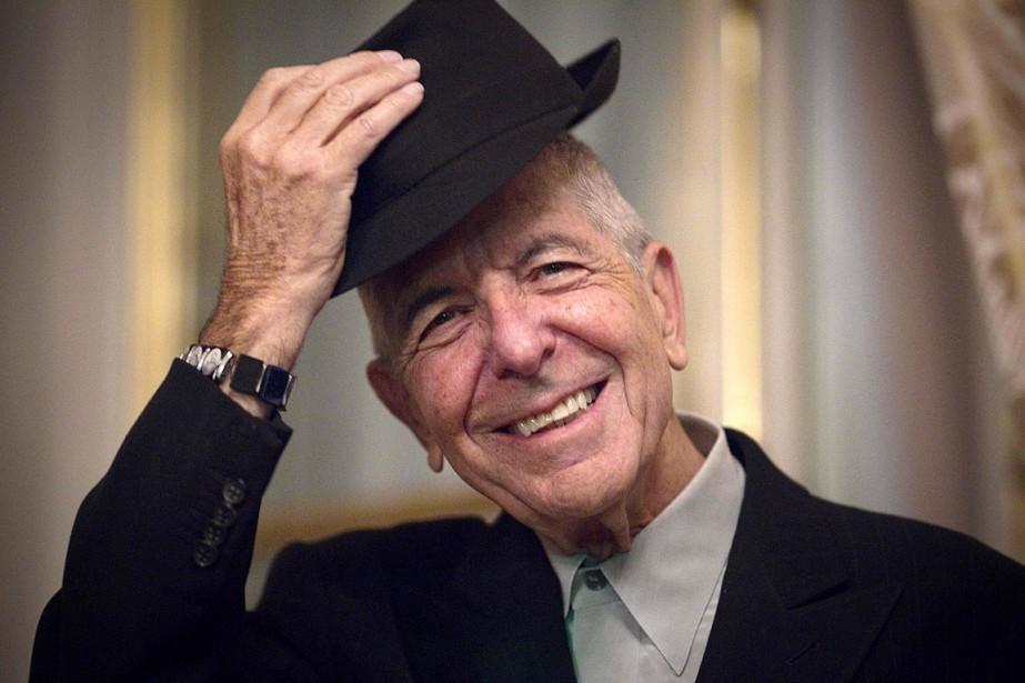 Leonard Cohen, photographié en janvier 2012 à Paris.... (JOEL SAGET, ARCHIVES AFP)