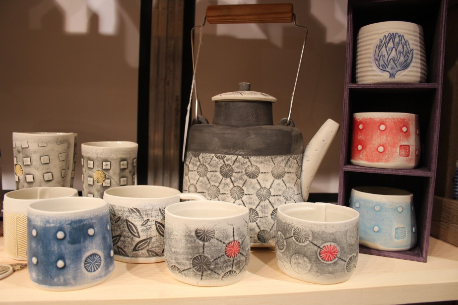 Karen Golden, de KG Céramique, propose de belles collections d'articles en céramique pour la maison. (Mélissa Bradette)