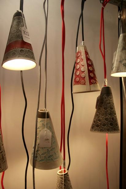Coup de coeur, pour les lampes suspendues en céramique de KG Céramique. Effet «WOW» assuré! | 11 novembre 2016