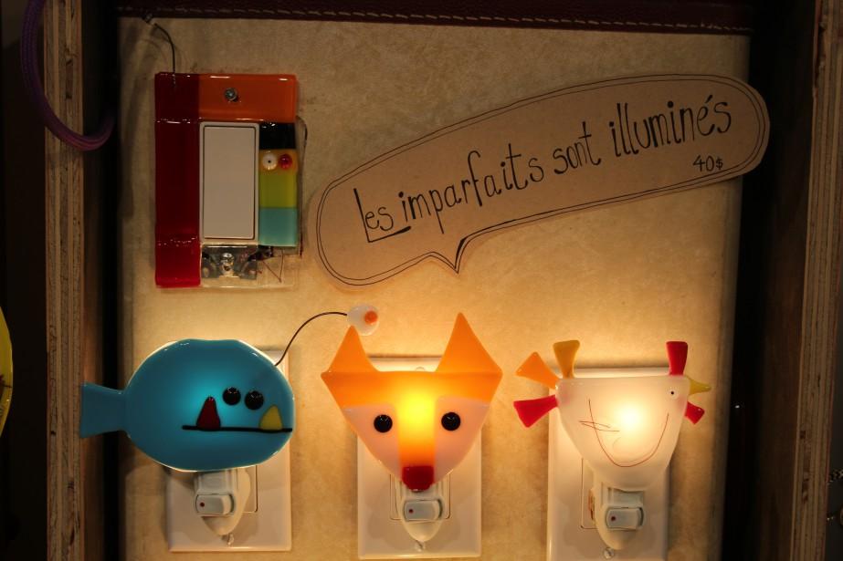 Le style parfois ludique, parfois industriel, des lampes JÜ contribue à donner à un aménagement intérieur un style recherché. (Mélissa Bradette)