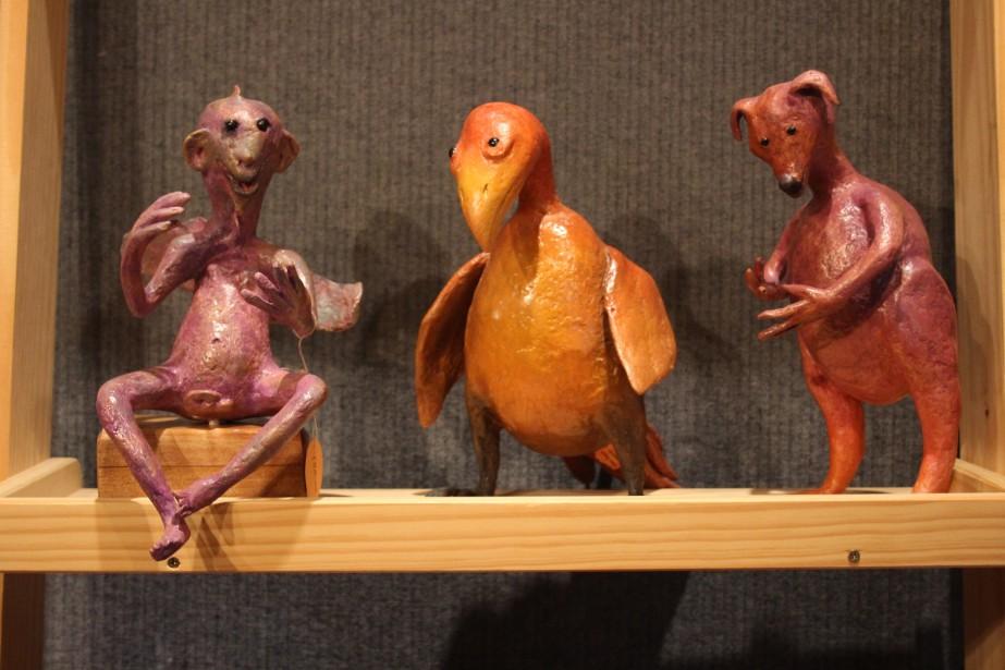 Sculptures en papier matière de Ann Jones. | 11 novembre 2016