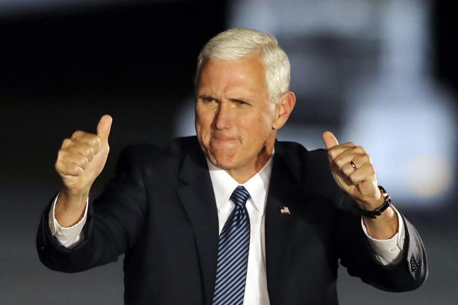 Le vice-président désigné des États-Unis Mike Pence.... (photo Darron Cummings, AP)