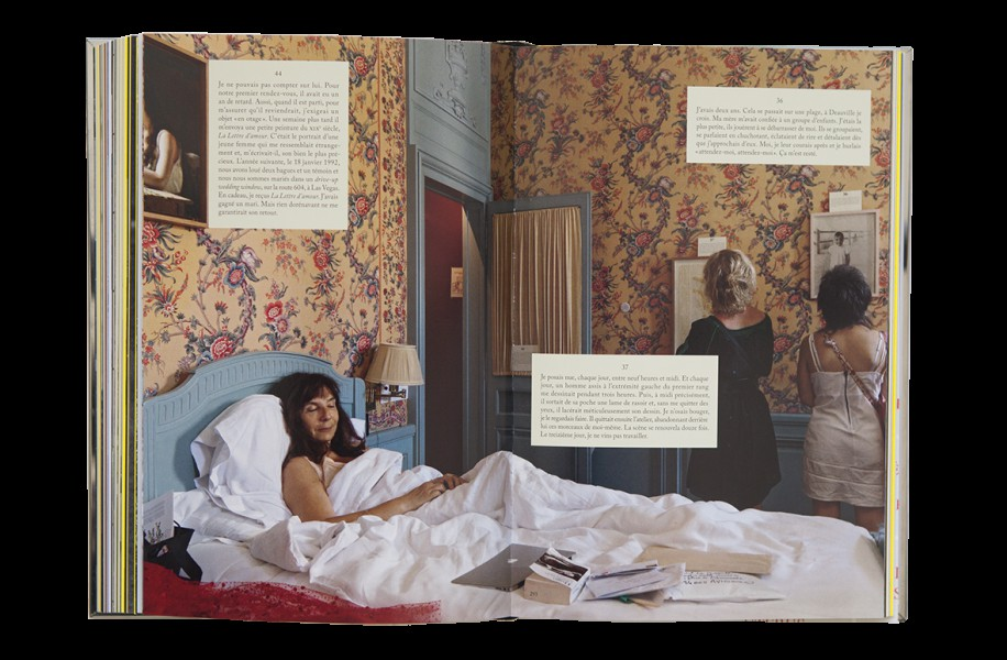 Extrait de Ainsi de suite, de Sophie Calle... (Image tirée du livre Ainsi de suite)