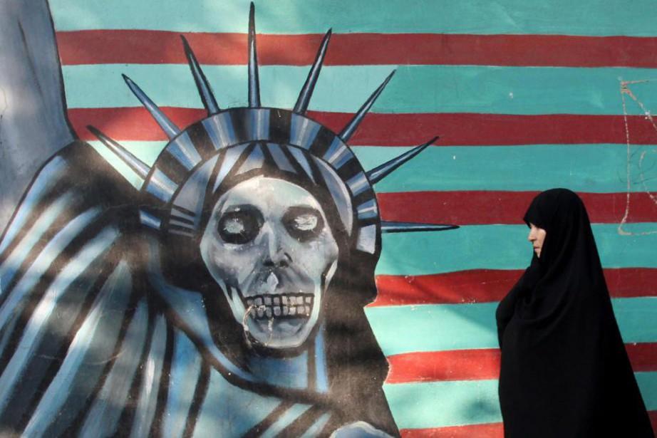 En haussant le ton face à un Iran... (photo atta kenare, archives agence france-presse)