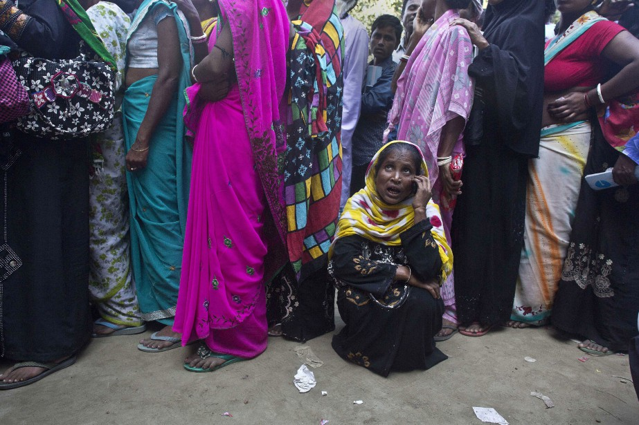 À la surprise générale, le gouvernement indien a... (PHOTO Anupam Nath, AP)