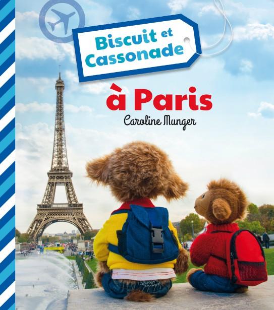 Biscuit et Cassonade ont fait le voyage jusqu'à Paris. (Courtoisie)