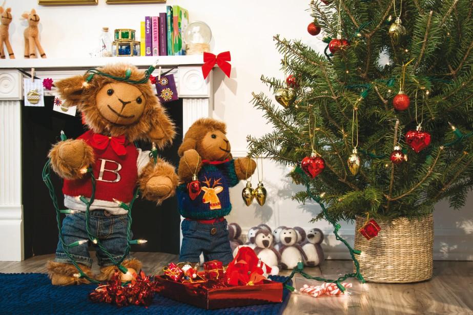 Avec <em>Biscuit et Cassonade aiment Noël</em>, les petits peuvent voir les deux moutons célébrer la grande fête. (Courtoisie)