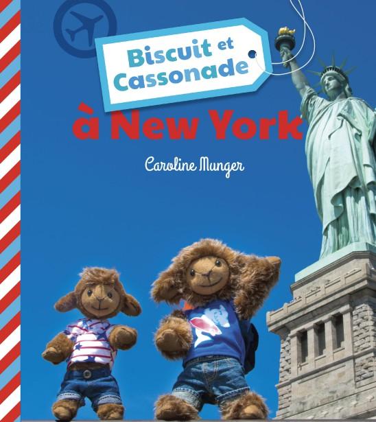 Les peluches Biscuit et Cassonade ont visité New York. (Courtoisie)