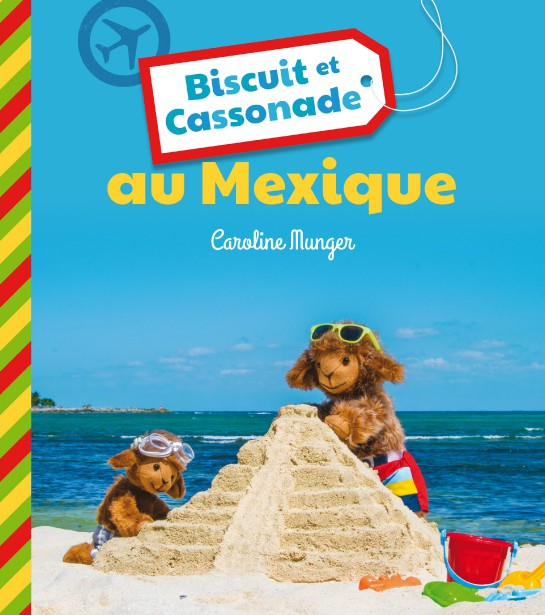 Biscuit et Cassonade se sont rendus jusqu'au Mexique. (Courtoisie)
