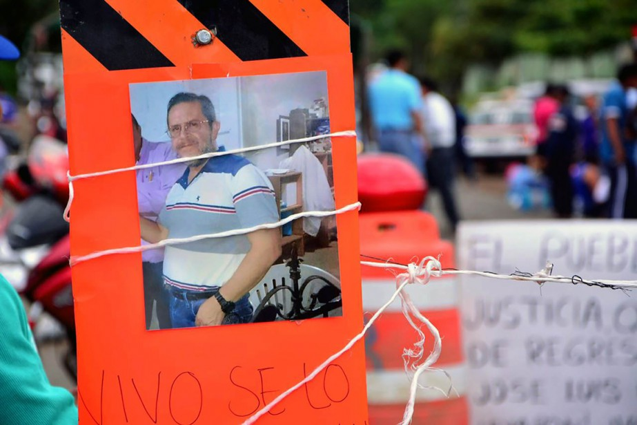 Le père Sanchez Ruiz, 54 ans, dénonçait régulièrement... (Photo EDUARDO MURILLO, AFP)